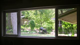 new window on the garden