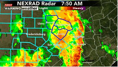 rain Austin TX