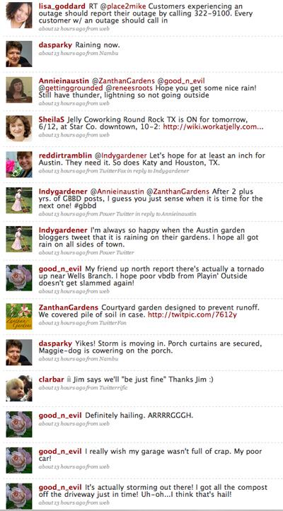 Storm Tweet Austin TX 2009-06-11