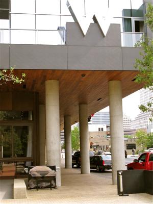 street piano W Hotel