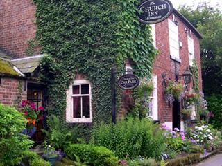 photo: Mobberley Church Inn