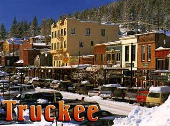 postcard: Truckee
