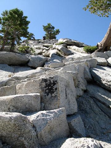 Half Dome Steps