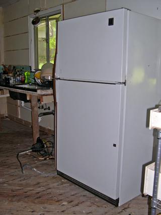 photo: refrigerator before