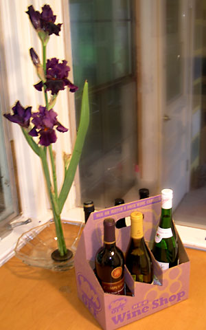 photo: wine six pack